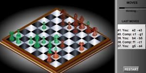 Hra - Flash Chess 3D