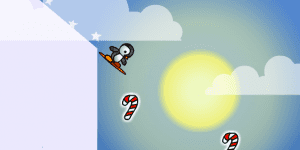 Hra - Penguin skate 2