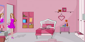 Hra - Barbie Doll Room Escape