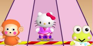Hello Kitty závody na bruslích