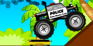 Hra - Police Monster Truck