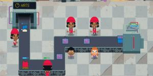 Hra - Továrna na oblečení