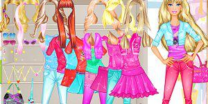 Barbie Room Dress Up