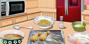 Sářina lekce vaření  - pečené kuře