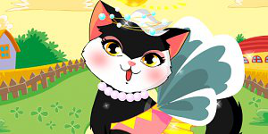 Angel Cat Dress Up