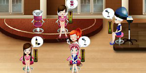 Hra - Cindy kadeřnice 2