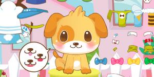 Hra - Cute Doggy Dress Up