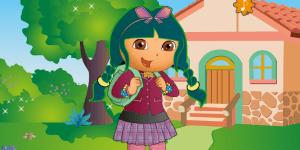 Hra - Dora jde do školy