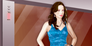 Rachel Nichols Celebrity Dress Up