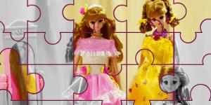 Hra - Barbie Mimi Puzzle 2