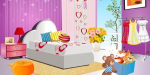 Girlie Bedroom Makeover