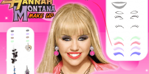 Hra - Hannah Montana Make-up