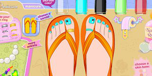 Stylin Stuff Pedicure