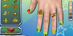 Hra - Fruit Nails