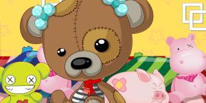 Hra - Bear Doll Dress Up