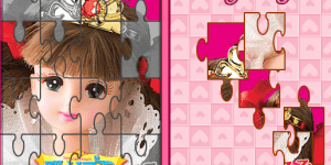 Hra - Barbie Puzzle 2