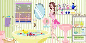 Hra - Barbie v koupelně