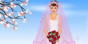 Hra - Wedding Dressup 3