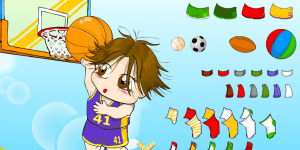 Basket Dressup