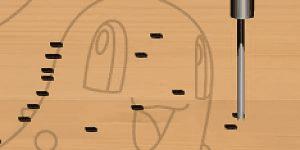 Wood carving Pokemon