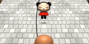 Hra - Pucca Jumping Rope