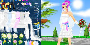 Hra - Anime Bride Dress Up