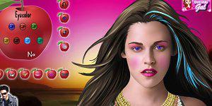 Hra - Bella a Edward oblíkačka