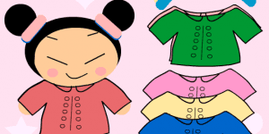 Hra - Pucca Dress up hra