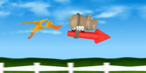 Hra - Pig on the Rocket