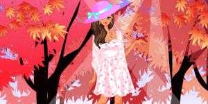 Autumn Angel Dress Up
