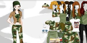 Army dress up