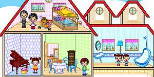 Family dollhouse 2