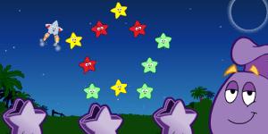 Hra - Dora the Explorer Star Catching