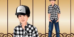 Justin Bieber Dressup Now
