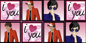 Hra - Valentine games