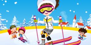 Cute Skier