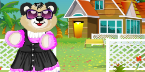 Hra - Cudldy Teddy Bear Dress Up
