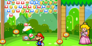 Hra - Mario Fruit Bubbles