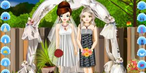 Bride And Bridesmaid Fashion Styling