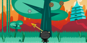 Hra - Ninja Dog
