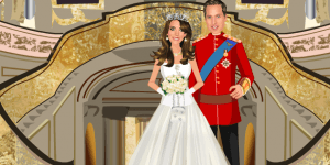 The Royal Wedding William and Kate Dress Up