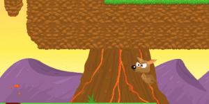 Hra - Kangaroo Jump
