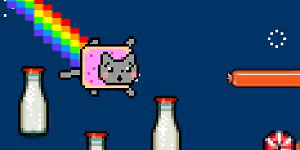 Hra - Nyan Cat: Lost in Space