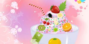 Frozen Yogurt Decoration