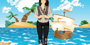 Penelope Cruz Pirates Dressup