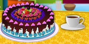 Cake Full of Fruits