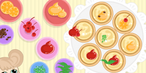 Cute Little Individual Egg Tarts