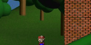Hra - Mario Mini Golf