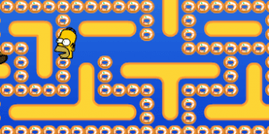 Hra - Simpsons Pacman