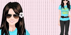 Hra - Dress Up Selena Gomez